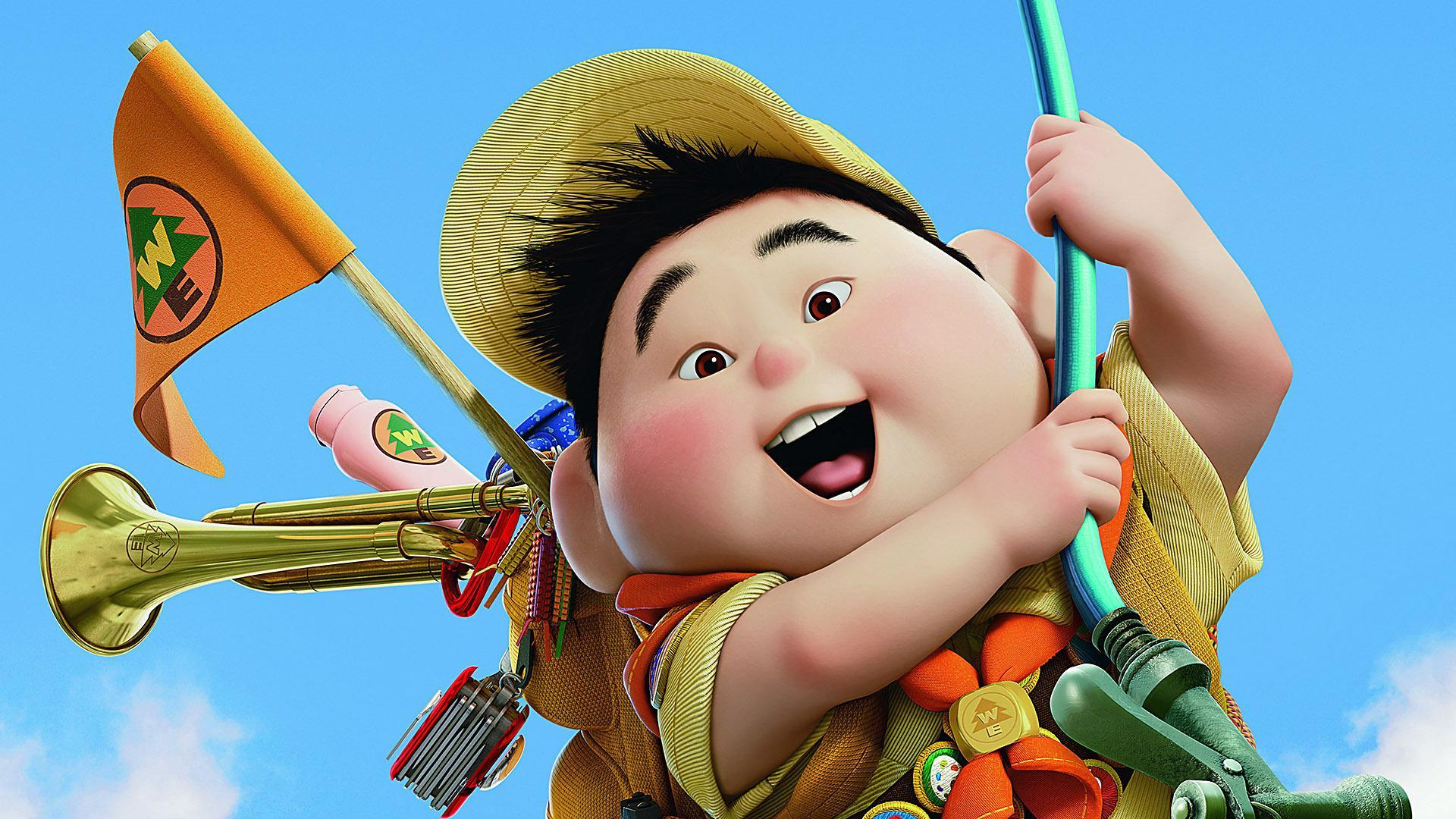 Boytscout- image courtesy: Pixar.