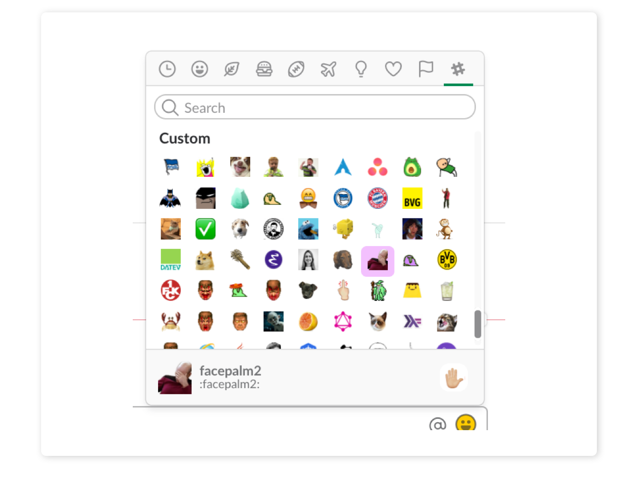 store2be communication in Slack.